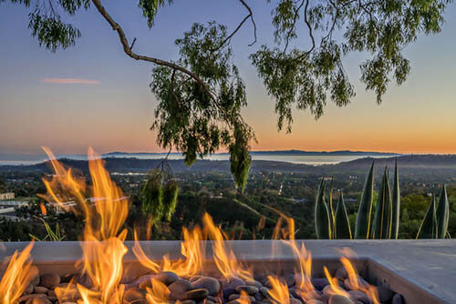 Outdoor Fire Feature Santa Barbara