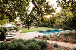 Natural Backyard Landscaping with Pool