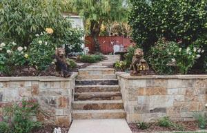 Stone Stairs & Walkway